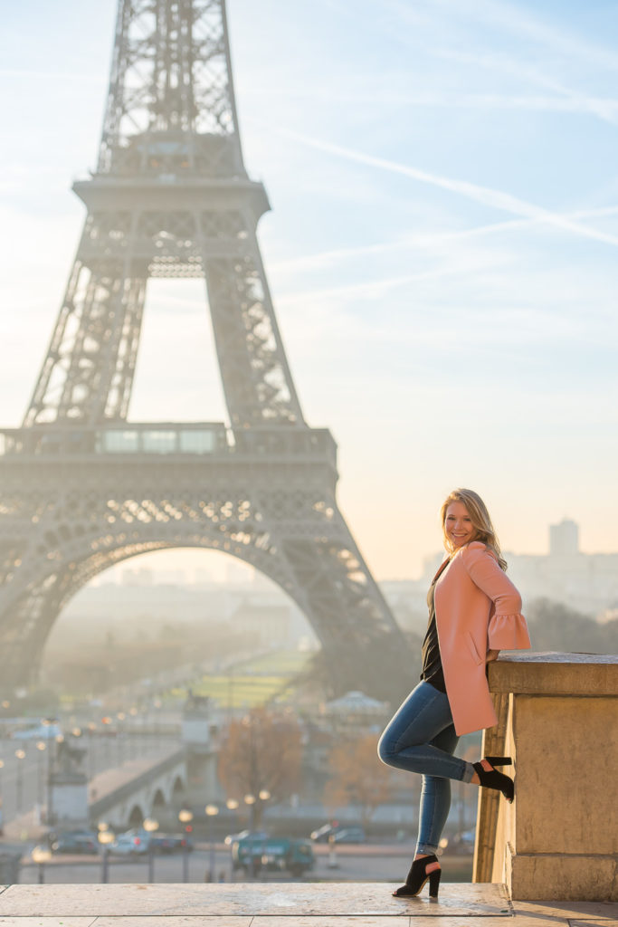 Sweet 16 photoshoot in Paris