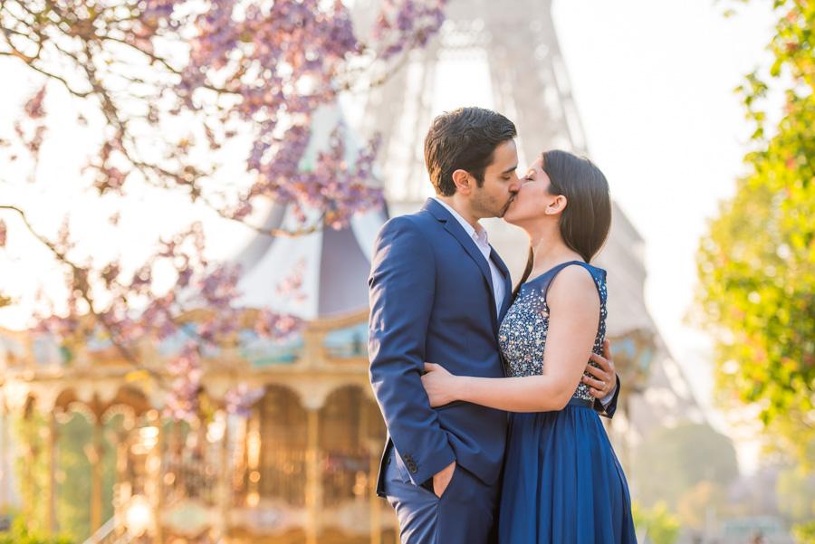 trocadero Eiffel Tower photoshoot