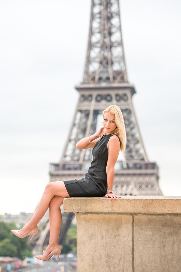 Solo photo session in Paris / Trocadero