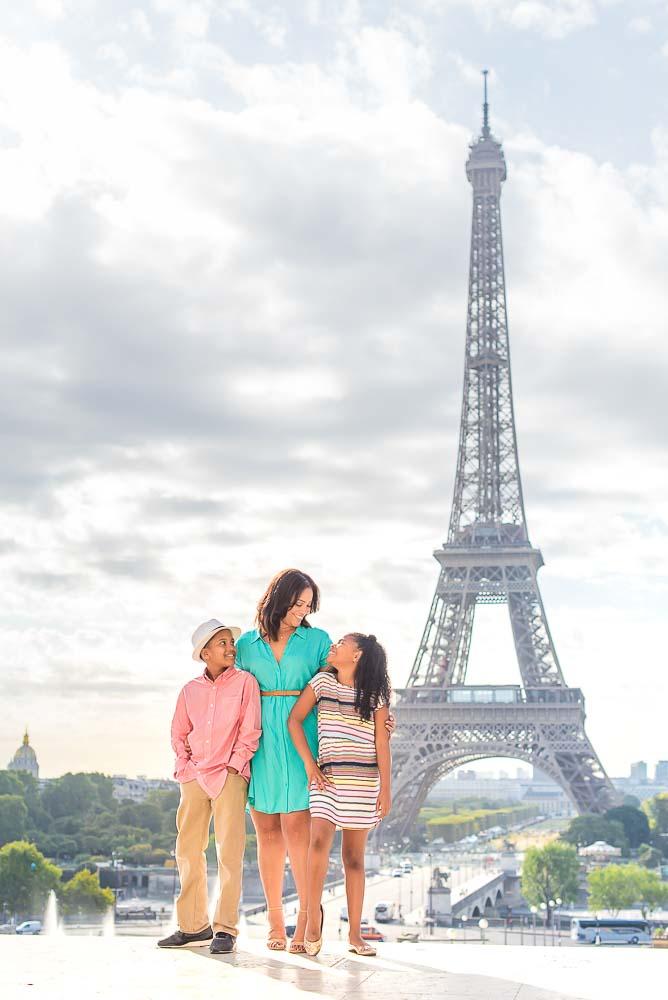 Family pictures in Paris