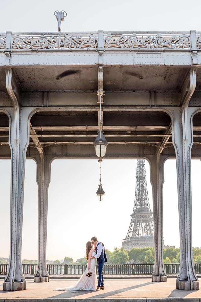 Elopement photography in Paris