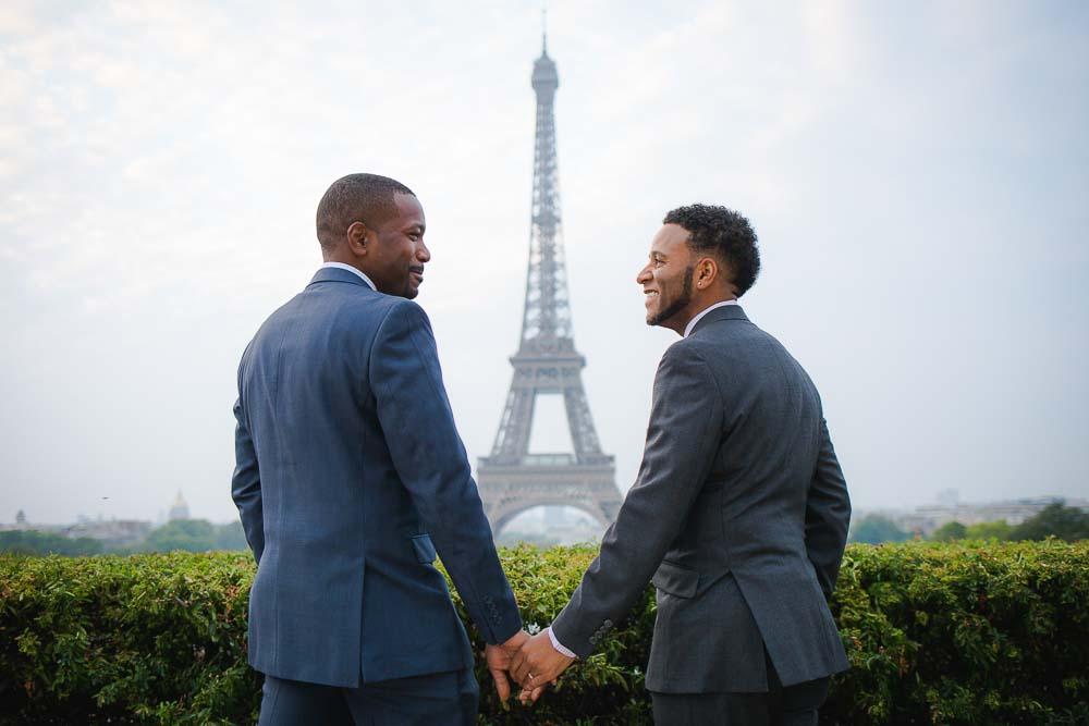 same sex photo session paris