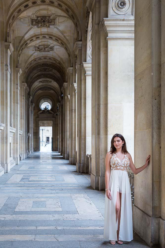 quinceanera photo session in Paris