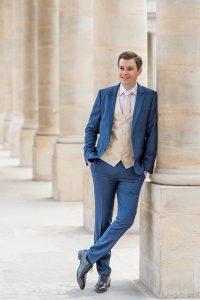 groom at Palais Royal in Paris