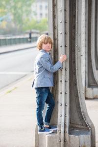 boy portrait near trocadero