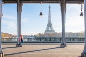 Sweet sixteen photoshoot at Eiffel Tower