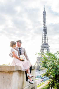 engagement photo session at Eiffel Tower