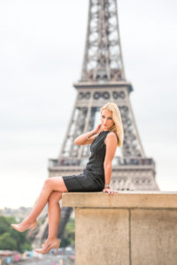 Solo photo session in Paris / Trocadero