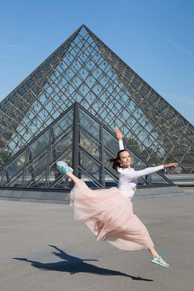 Dancer photoshoot in Paris