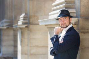 Louvre man with hat portrait