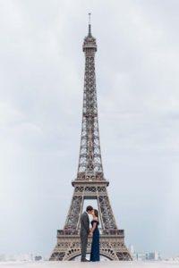 Anniversary photoshoot in Paris