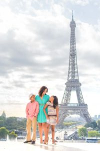 Family pictures in Paris
