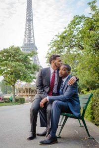 same sex photo session men paris