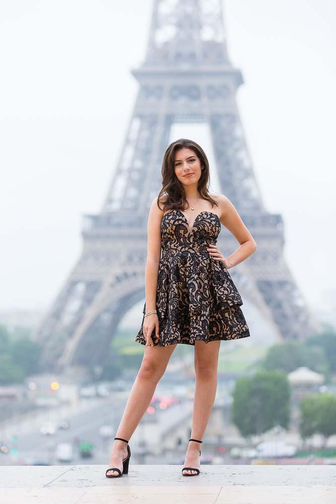 Fresh Quinceanera photoshoot in Paris