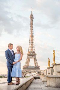 Sweet parents / family photos in Paris