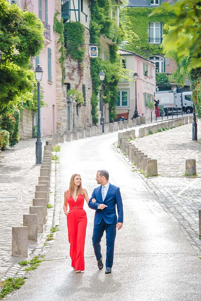 Couple photo session in Montmartre