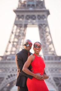 Masquerade photo session in Paris