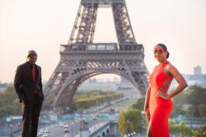 Masquerade photoshoot in Paris