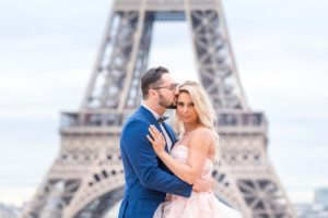 engagement in Paris with a surprise