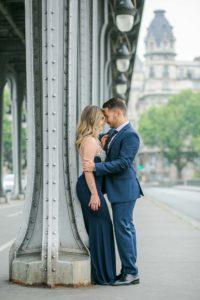 Engagement photography in Paris
