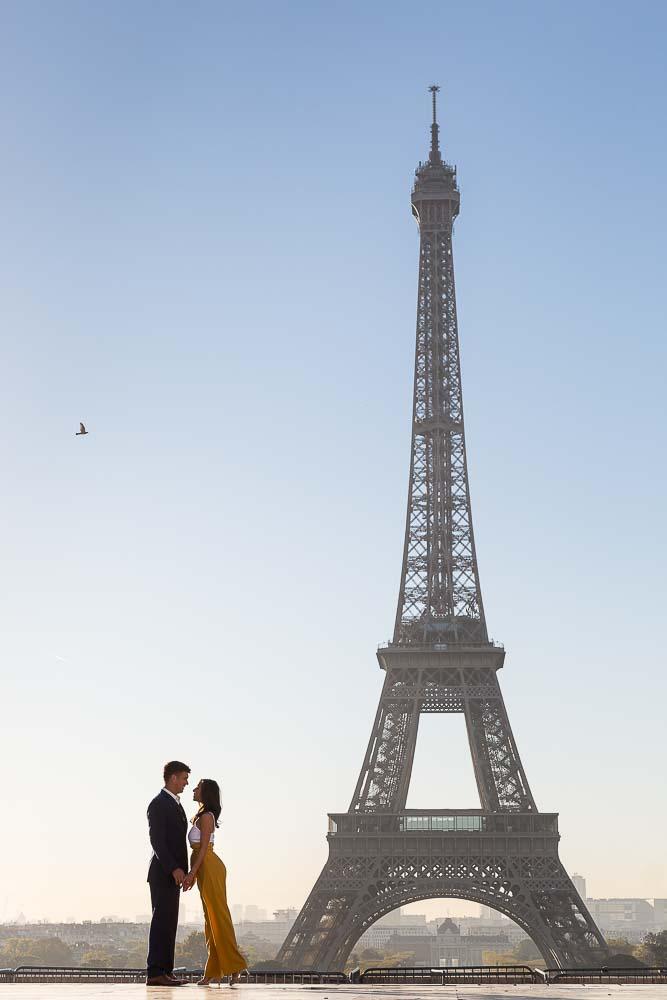 Pre-wedding photo shoot in Paris !
