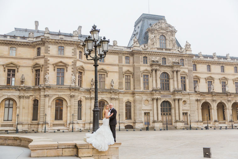 wedding paris photo
