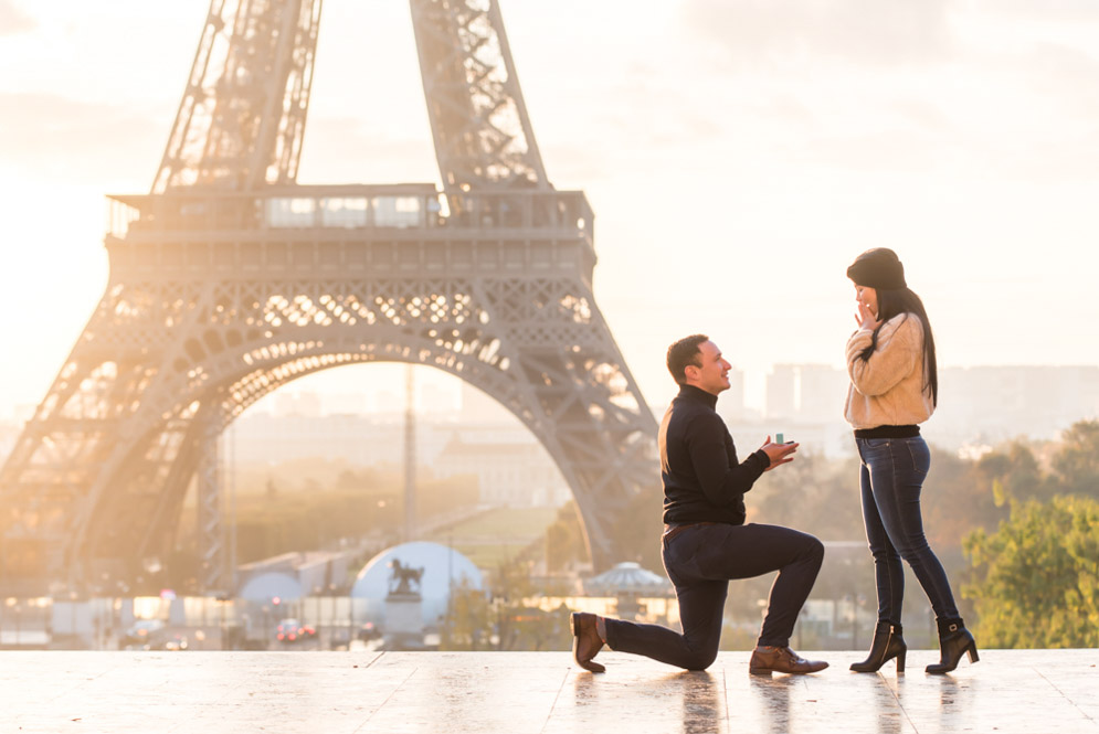 hire paris photographer for proposal