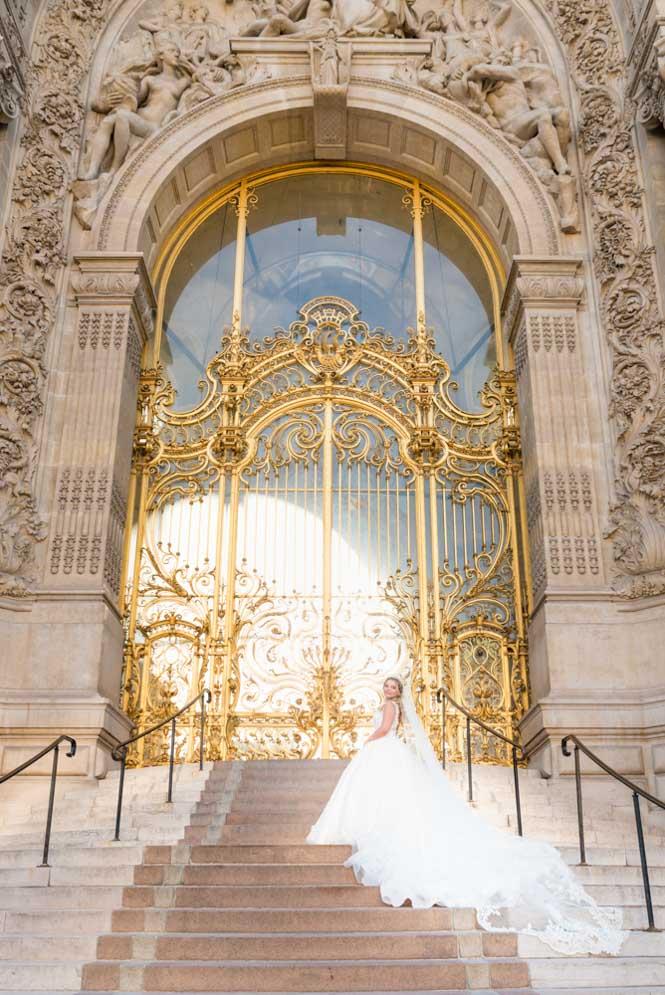 Professional bridal photography paris