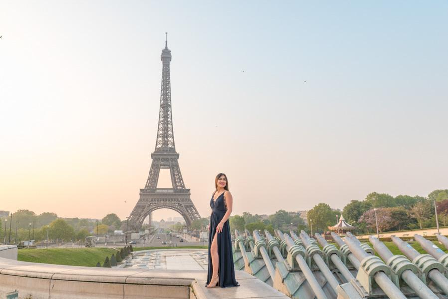 eiffel tower fountain fashion