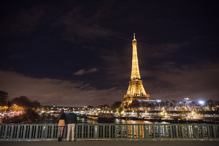 paris night photo session